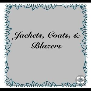 Jackets and coats.  Men and women's